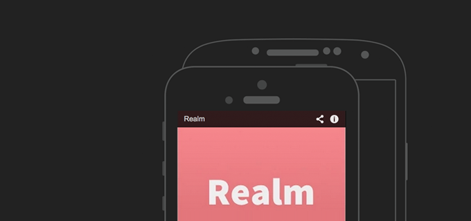 Realm: a database for Android & iOS