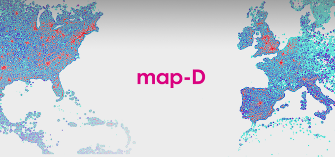 Map-D: A GPU Database for Interactive Big Data Analytics